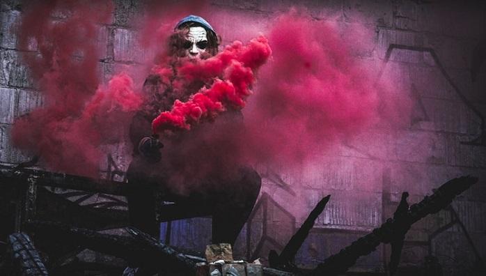 煙を吐く悪魔
