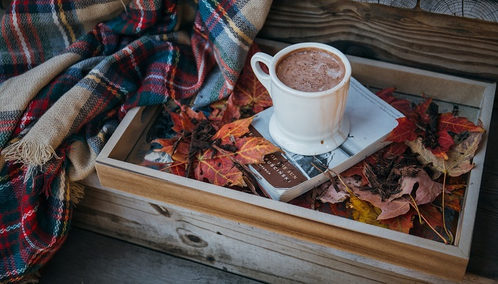 秋のホットチョコレート