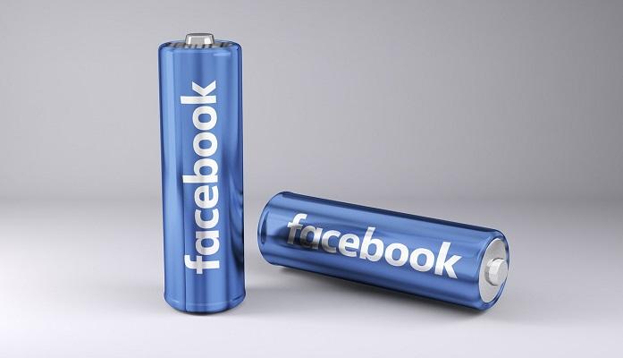 Facebook電池